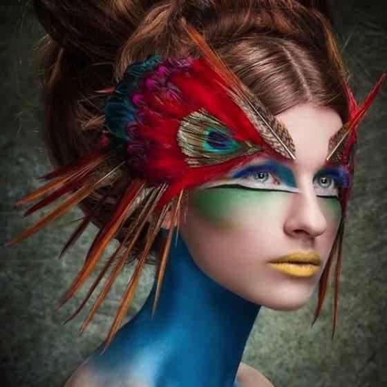 Coiffure et maquillage, vivre Baroque