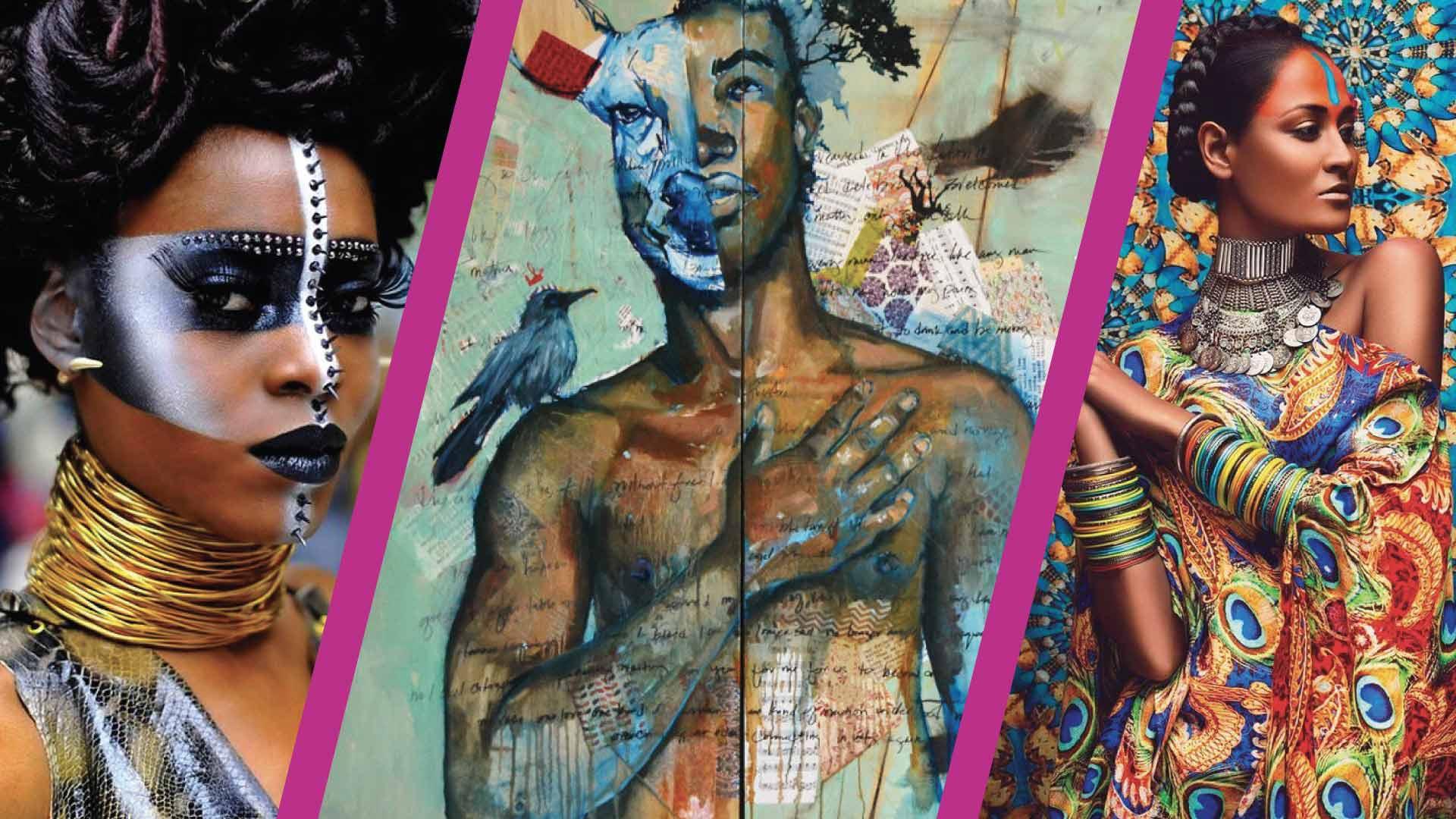 Projet artistique Face and body painting, Vivre Baroque